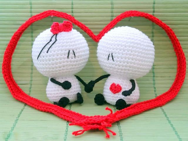 Free Valentine's Creatures Crochet Patterns