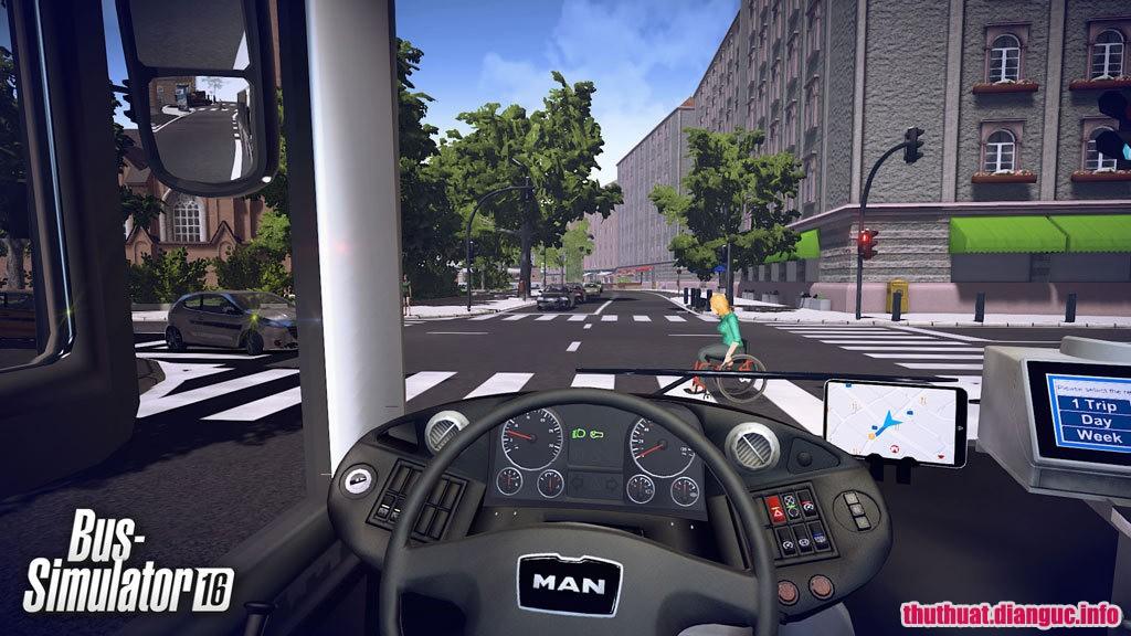 game mô phỏng lái xe buýt