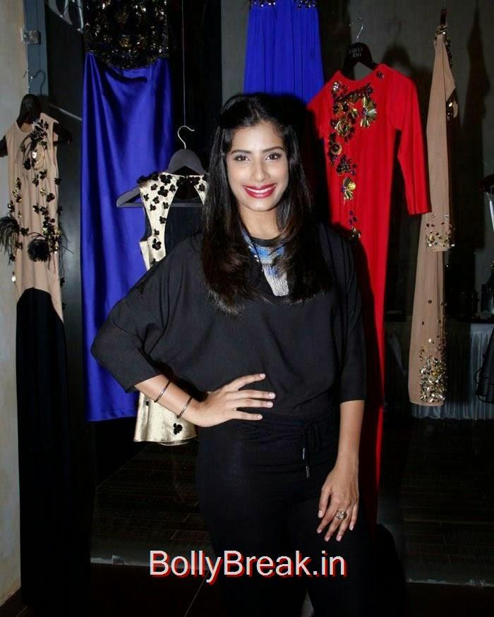 Gaelyn Mendonca, Anindita Nayar, Zoya Afroz Hot Pics At Harsh Gupta's SS15 Collection Preview at Fabula Rasa