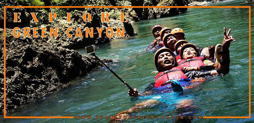 paket wisata explore green canyon 2 hari 1 malam