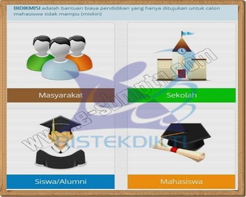 Proses Pendaftaran BIDIKMISI SNMPTN dan SBMPTN 2016/2017