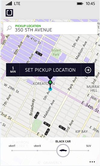 Aplikasi Uber & Momento+ Tersedia untuk Windows Phone Lumia