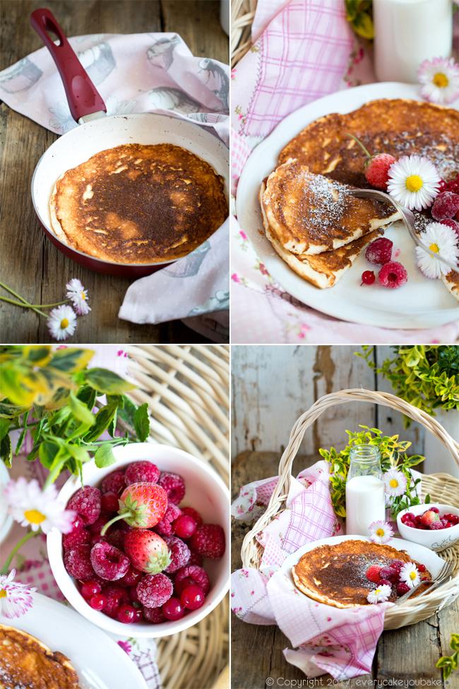 omlet biszkoptowy grzybek litewski