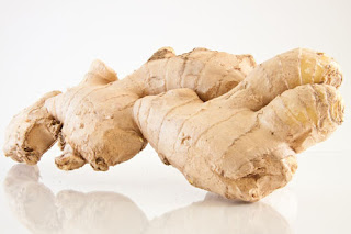 Ginger root prior to extraction of essential oil