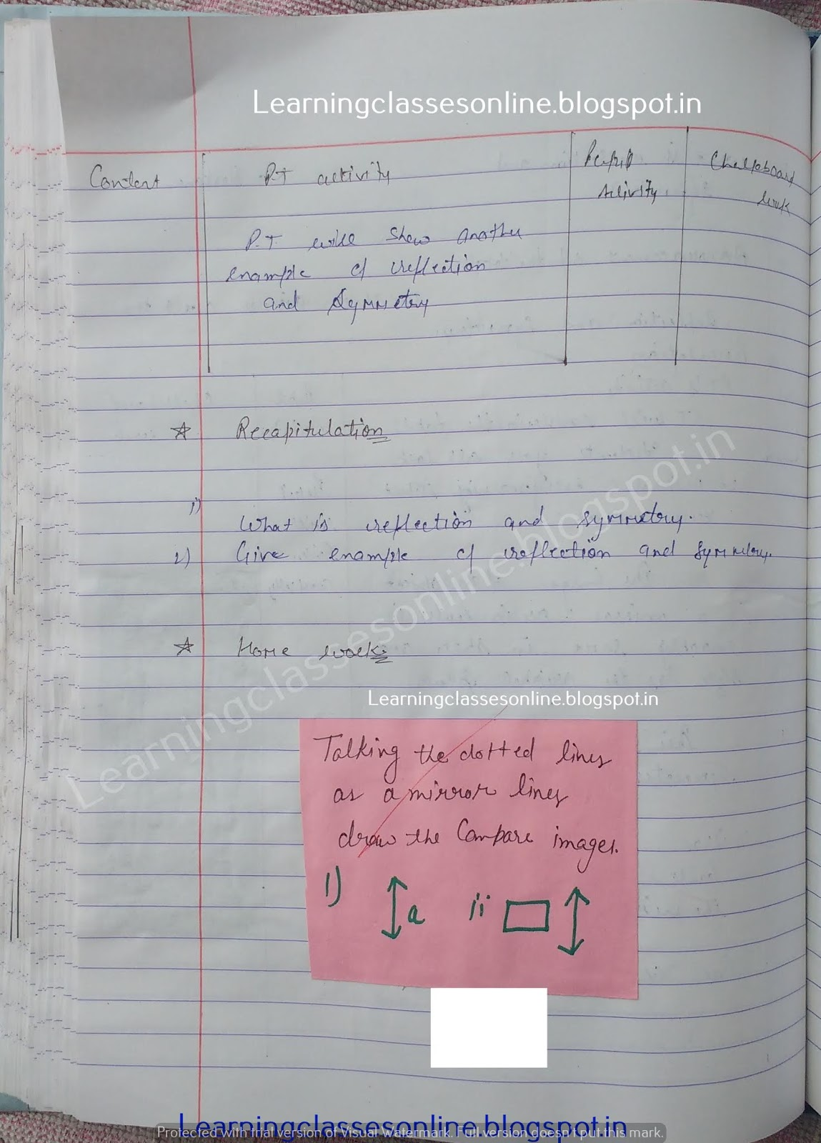 Lesson Plan For Maths Class 10,
