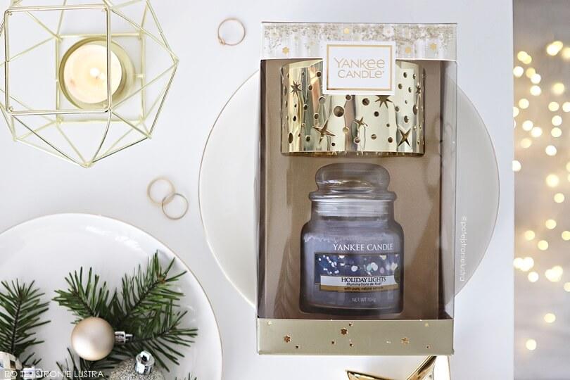 yankee candle holiday lights zestaw prezentowy
