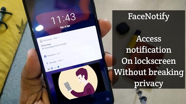 Aktifkan Face Unlock Notifikasi Layar Kunci pada Perangkat OnePlus