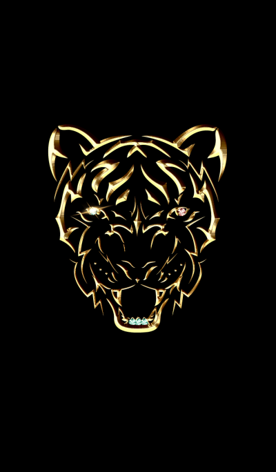 Gold Tiger theme