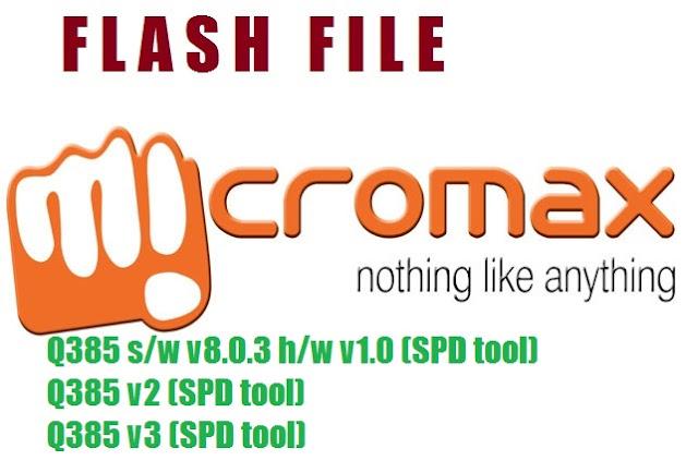 micromax q385 v8.1.2 firmware download