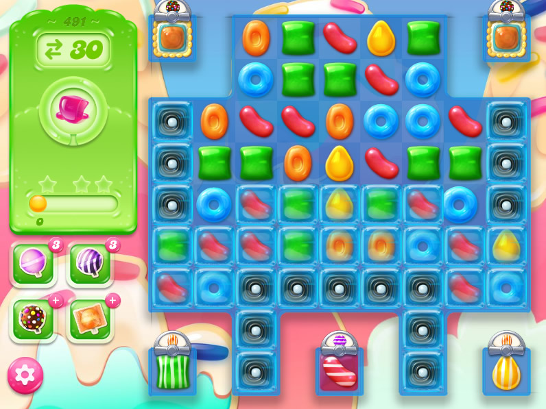 Candy Crush Jelly Saga 491