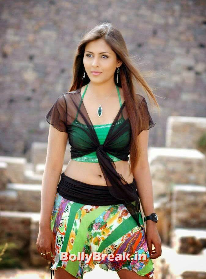 , Madhu Shalini Super Hot HD Pics Dancing in Mini Skirt