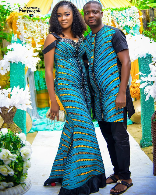 matching african outfits for couples  simple design