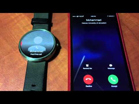 Here's how to use the Moto 360 on iPhone without Jailbreak [video]