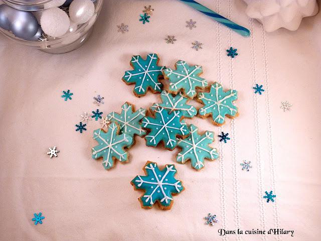 Mes biscuits flocons à la vanille