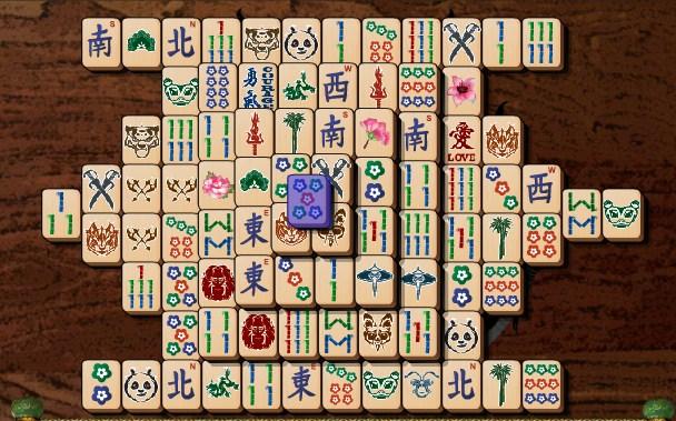 Kung Fu Panda Mahjong Mayhem game