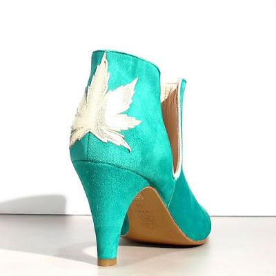 Boots Patricia Blanchet Kaktus vert