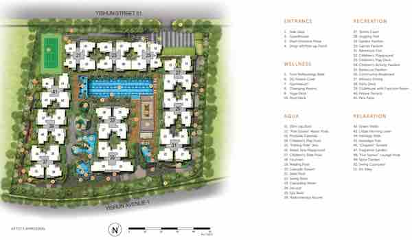 Signature @ Yishun Floor Plan