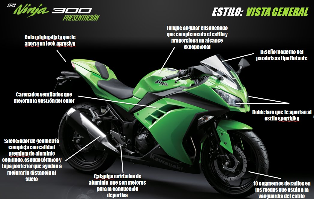 Locos Por Los Moto Res Kawasaki Nijna 300