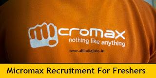 Micromax Careers