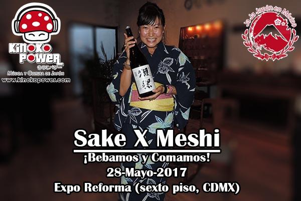 Sake X Meshi en Expo Reforma 28-Mayo