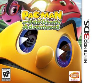 Pac-man And The Ghostly Adventures, 3DS, Español, Mega
