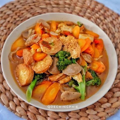 Resep membuat Tofu Saus Tiram