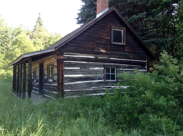 nineteenth century cabin near Algonquin Park