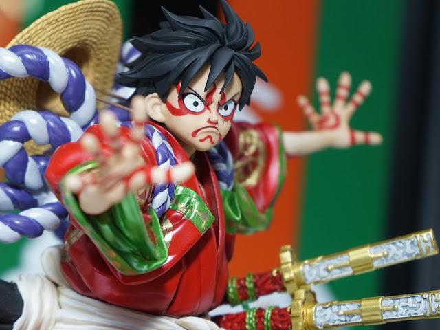 Monkey D. Luffy – Excellent Model – Portrait of Pirates KABUKI-EDITION, Actu Goodies, Goodies, One Piece, Megahouse,