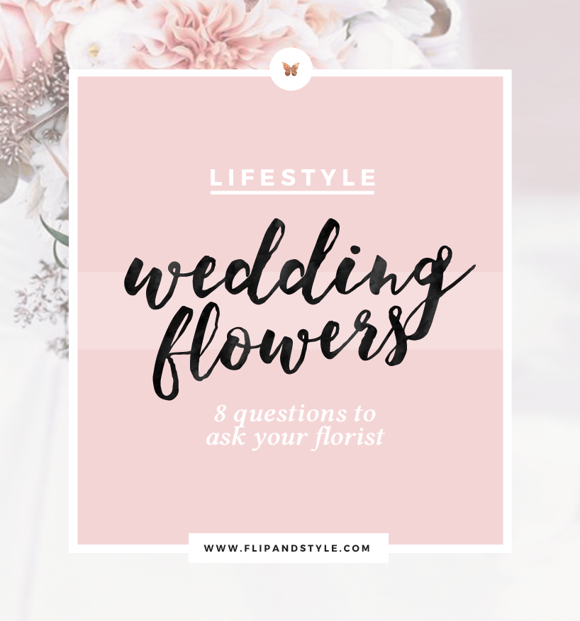 how to choose wedding flowers