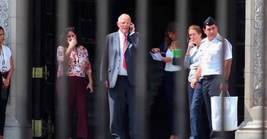 Fiscalía solicita impedimento de salida del país para Pedro Pablo Kuczynski - PPK