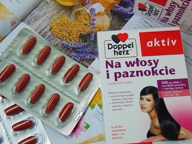 Suplement diety Doppelherz na włosy i paznokcie