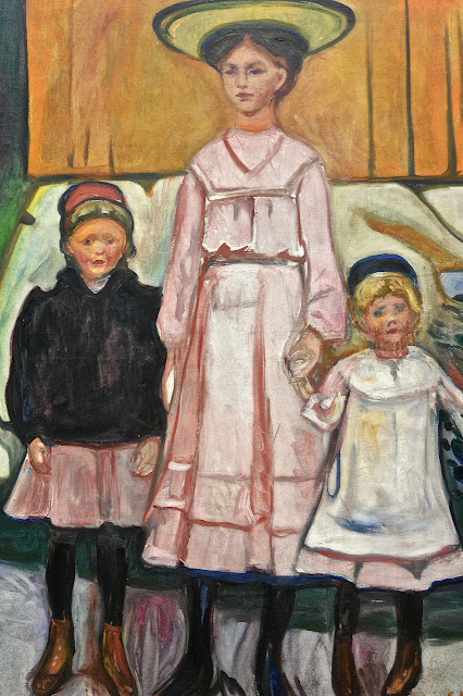 Stockholm : Edvard Munch Thielska Galleriet ïl de Djurgarden