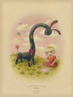 Mark Ryden painting - Tears