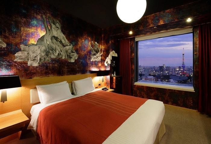 No. 24 Park Hotel Tokyo Artist Room 'Wabi-Sabi' designed by Conami Hara