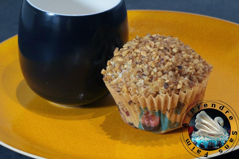 Muffins banane cannelle aux pépites caramélisées