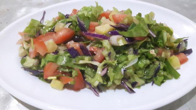 Karisik salata tarifi
