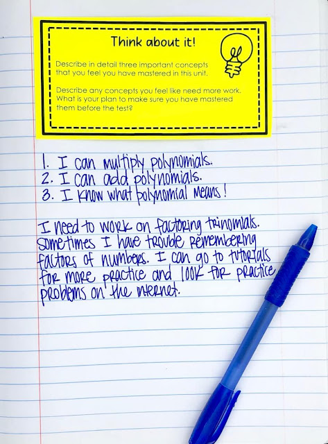 This first day of school activity comes from a long list of back to school tips for teachers. In addition to high school classroom decor, you can also find classroom management tips, interactive notebook tips, and all about me activities!