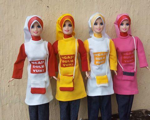 barbie muslim'