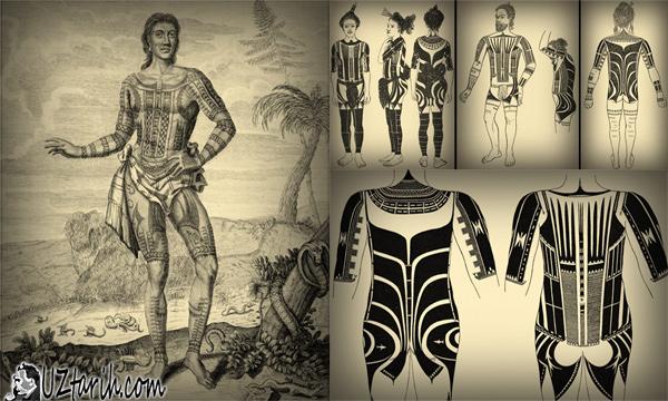 dövme tarihi, tattoo history, micronesia