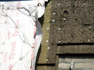 Фасадная пленка, фасадная мембрана, гидроветрозащитная мембрана, вентилируемый фасад
