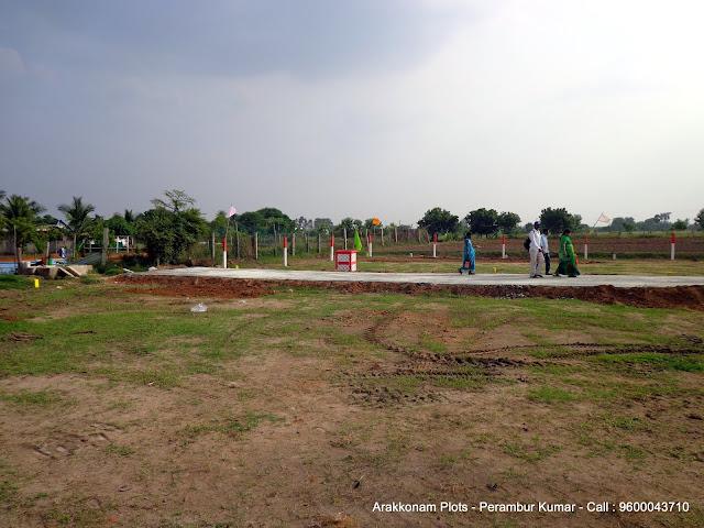 Arakkonam Plots - Gomathi Amman Nagar
