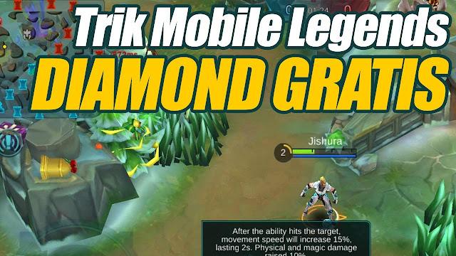 Cara Mendapatkan Diamond GRATIS Di Mobile Legend 2018