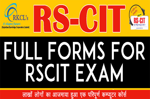 """Full Form For RSCIT Exams"" ""Learn rscit"" ""learnRSCIT.com"" ""rkcl"" ""rscit"" ""rs cit"" ""rscit course"" ""rscit online"" ""Short form for rscit exam"" ""Full forms for rscit exam "" ""Full form of rsccit"" ""Full form or Rkcl"" ""Rscit important full forms"" ""All full forms for rscit exam"" ""RSCIT-Rajasthan state certificate in information technology"" ""RKCL-Rajashtan knowledge corporation limited "" ""All important full forms for rscit exam """