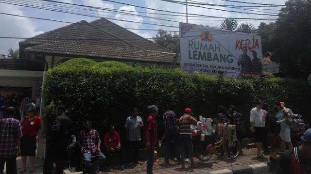 Suasana di Rumah Lembang, Menteng, Jakarta Pusat