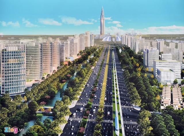 Tuyến đường Nhật Tân - Nội Bài