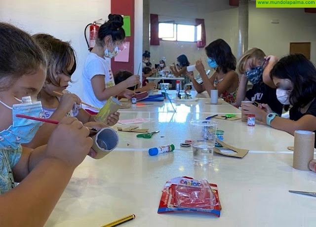 Más de una quincena de menores disfrutaron de las colonias urbanas de verano celebradas en Los Llanos de Aridane