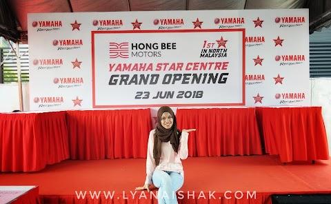 HONG BEE YAMAHA STAR CENTER - Pelancaran Pertama Yamaha Star Centre Di Malaysia Utara