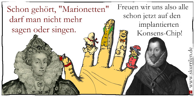 Kunstfreiheit Medien Presse Satire Comic Cartoon Meinungsfreiheit Demokratie Xavier Naidoo Söhne Mannheims Marionetten Song Lied