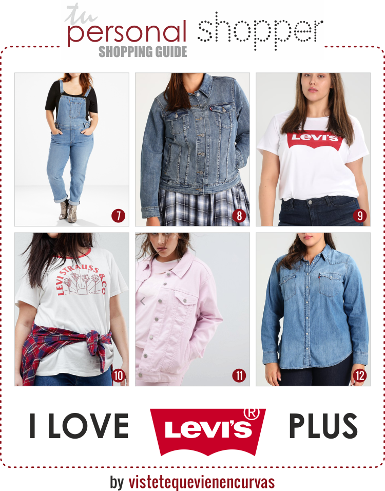 Levi S Plus Size Ya Era Hora Happy Shopping Vistete Que Vienen Curvas