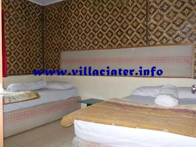 fasilitas untuk rombongan di villa sari ater